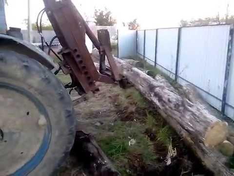 Фронтальный погрузчик(КУН) на трактор МТЗ 1221