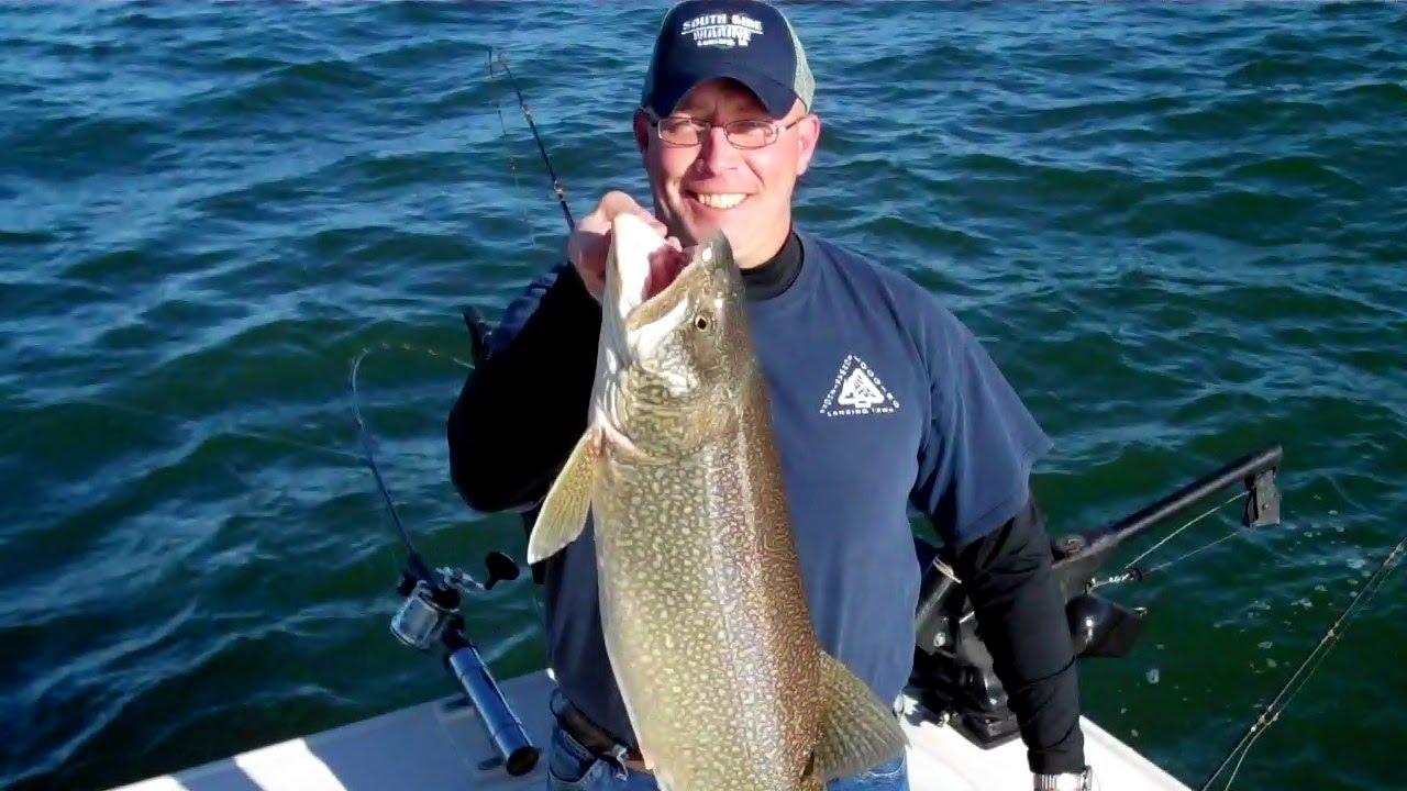 Lake michigan trout salmon fishing sheboygan wi may for Carters lake fishing report