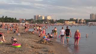 Анапа червень 2019 Центральний пляж вечірнє море