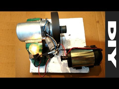 Free energy flywheel generator test 2018 DIY