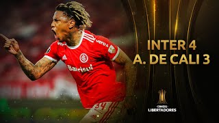 Internacional vs. América de Cali [4-3] | GOLES | Fase de Grupos | Jornada 3 | CONMEBOL Libertadores