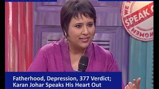 Karan Johar talks to Barkha Dutt on The Myth of Masculinity