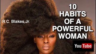 10 HABITS OF POWERFUL WOMEN ( 1st 5) RC BLAKES