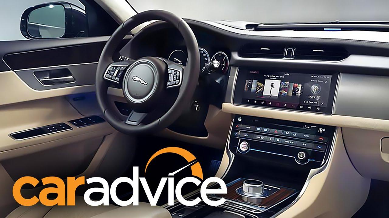 Excellent 2016 Jaguar XF  InControl Touch Pro Infotainment System