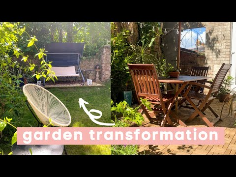 Garden Transformation for Summer   Gardening, Tidying and DIYing