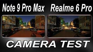 Redmi Note 9 Pro Max VS Realme 6 Pro Camera Test | Redmi Note 9 Pro Max VS Realme 6 Pro Comparison