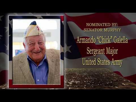 Senator Murphy's 2018 Veterans' Hall of Fame Nominee