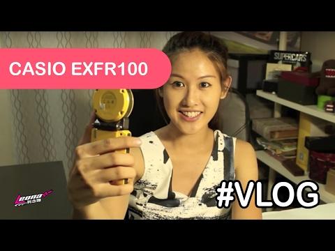 [VLOG] PRODUCT FEATURE Casio Exilim EX-FR100