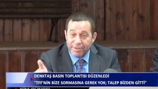 KANAL SİM SERDAR DENKTAŞ BASIN TOPLANTISI