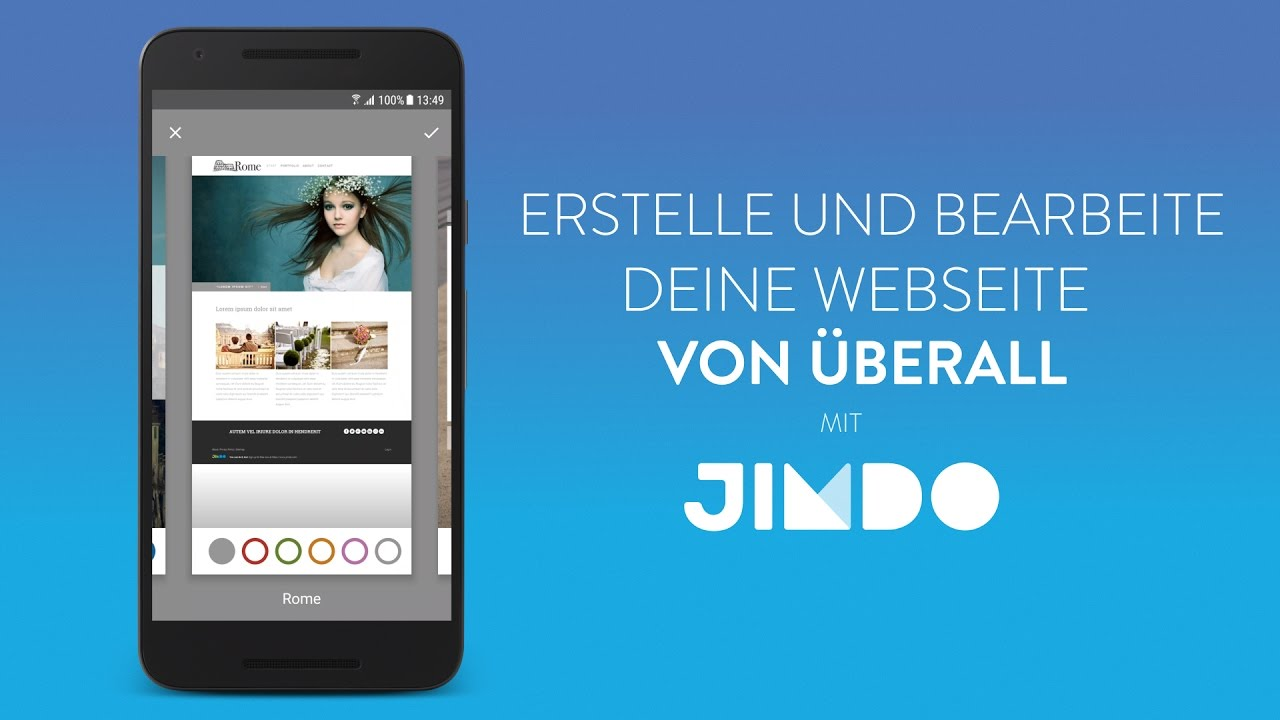 jimdo f r android dein leben deine bilder deine app youtube. Black Bedroom Furniture Sets. Home Design Ideas