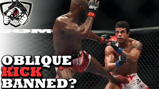 Should the 'Oblique Kick' Be Banned from MMA?
