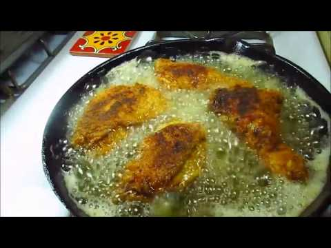 Video Pictures of fried catfish