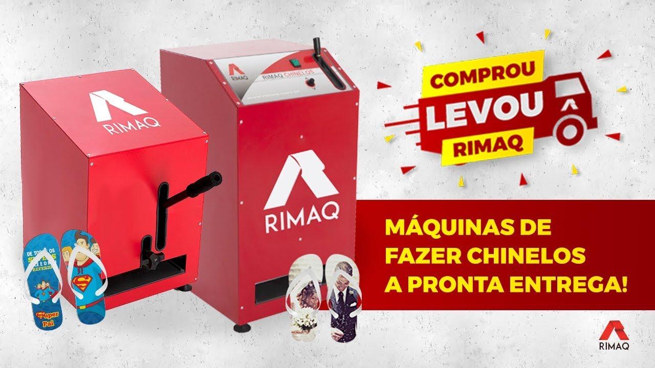 Comprou Levou - Pronta Entrega - Máquina de Chinelos Rimaq 2ef5f73079b