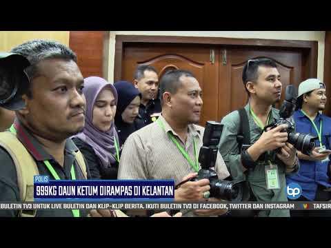 Ketum Seberat 999kg Dirampas Di Kelantan