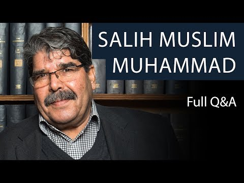 Salih Muslim Muhammad | Full Q&A | Oxford Union