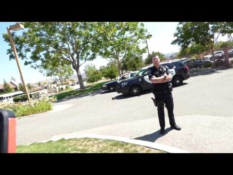 Simi Valley PD, Cop Fishing, Ends Up W/empty STRINGER, 1st Amend Audit