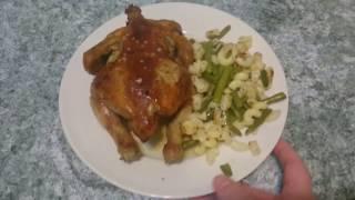 Цыплята корнишоны в духовке.