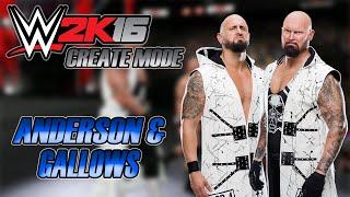 WWE 2K16 - Karl Anderson & Luke Gallows Gameplay