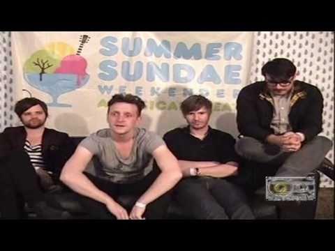 Sucking Lemons TV interview: The Futureheads