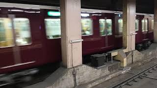 【阪急電車】準急天下茶屋行き〜京都河原町駅を出発