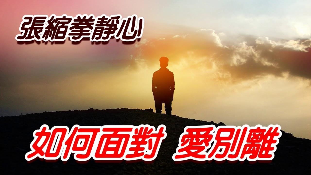 張縮拳靜心 面對愛別離 線上正念冥想 張世傑 2020年1月3日 - YouTube