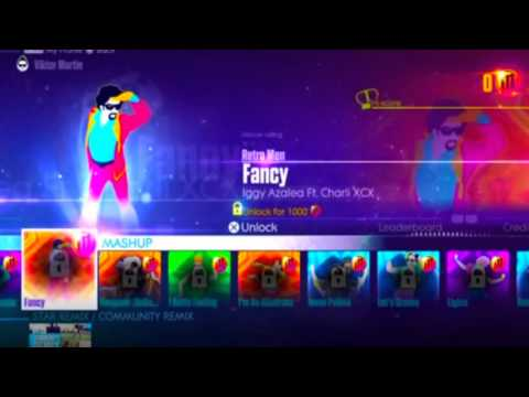 Just Dance 2016 song list - All menu complete