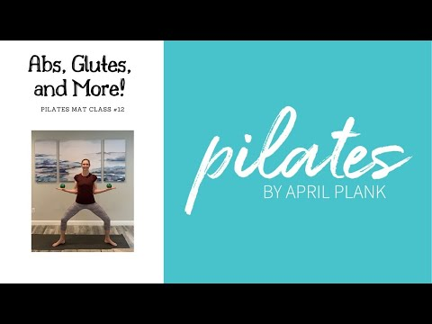 Abs, Glutes, and More! Pilates Mat Class #12