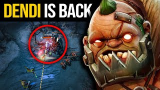 Dendi Pudge Boss Back To Mid!!!! Pudge Official