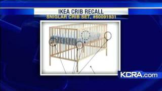 Ikea Recalls Baby Crib