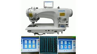 #122, 475A-2290-S, YULUN zigzag industrial sewing machine