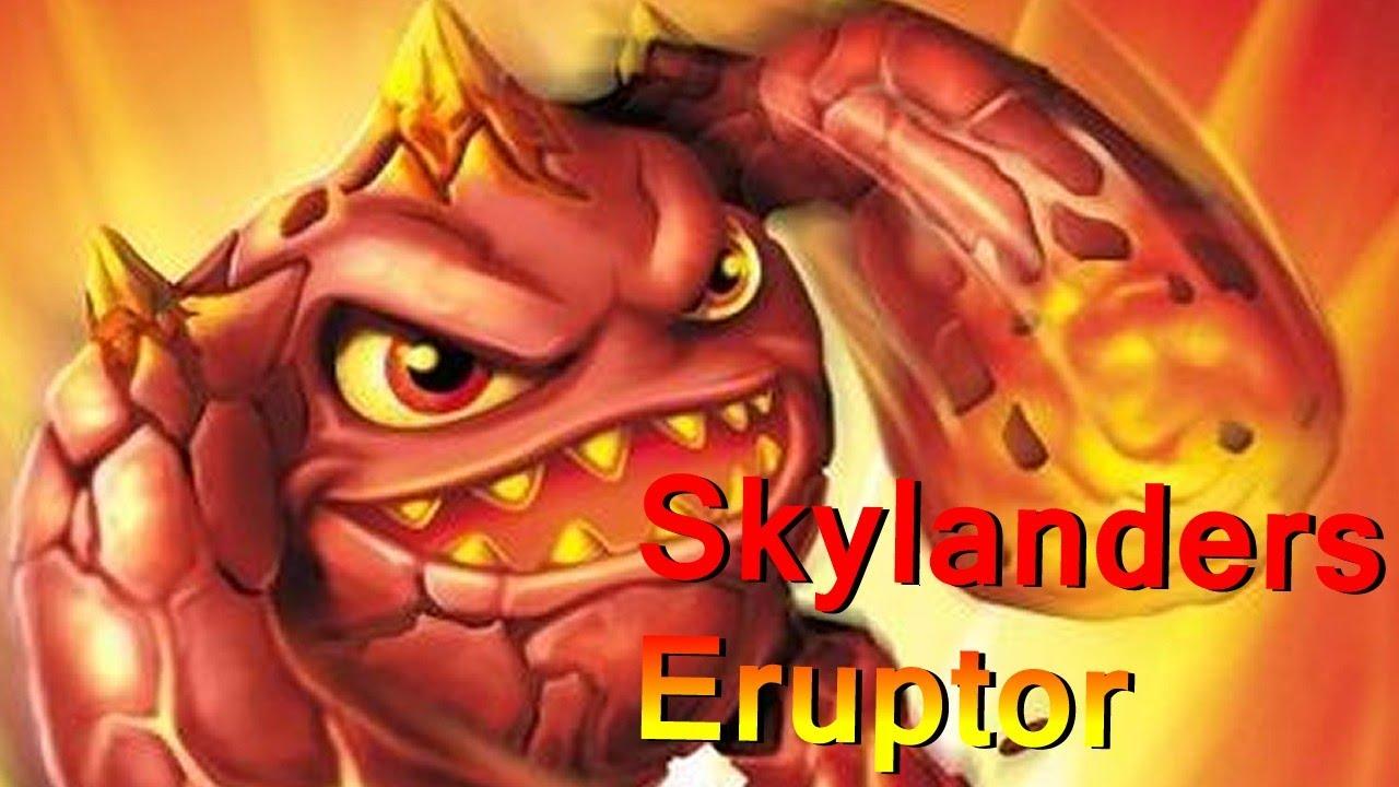 meet the skylanders series 2 eruptor