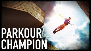 Parkour Free Running World Champion Tim Shieff On Going Pro & Vegan