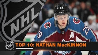 Top 10 Nathan MacKinnon plays from 2017-18