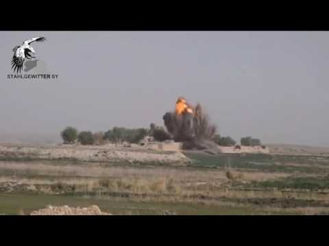 f16 rocket attack on ISIS sites in Fallujah, Iraq 2016/5/23
