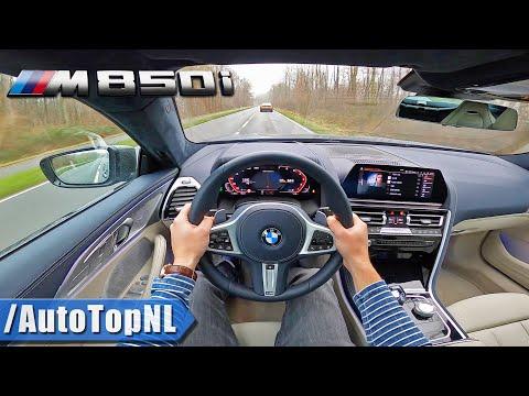 2020 BMW 8 Series GRAN COUPE M850i XDrive POV Test Drive By AutoTopNL