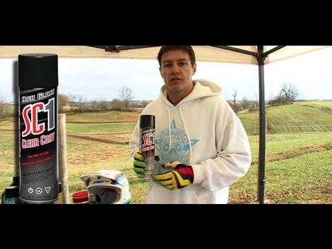 Maxima SC1 Clear Coat Spray Test