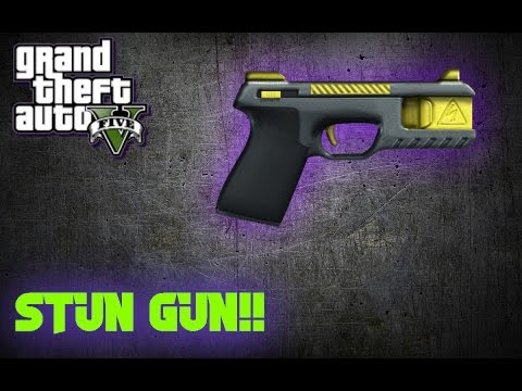 GTA 5 Online - HOW TO GET THE STUN GUN IN GTA 5 ONLINE 1.39 PS4/XBOX ONE