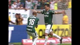 Gol de Gustavo Gómez - Botafogo 0 x 1 Palmeiras - Narração de José Manoel de Barros