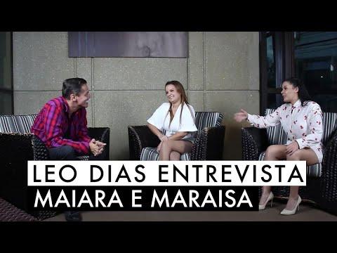 Leo Dias entrevista Maiara e Maraisa