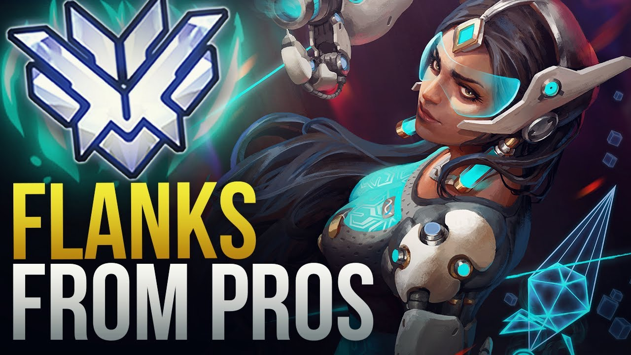 THESE PROS MADE INSANE FLANKS - Overwatch Montage