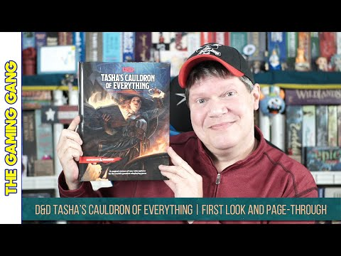 D&D Tasha's Cauldron of Everything | First Look and Page-Through