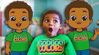 Goo Goo Gaga Plays Hide & Seek With Cartoon! (Where Is Goo Goo Toonz?)