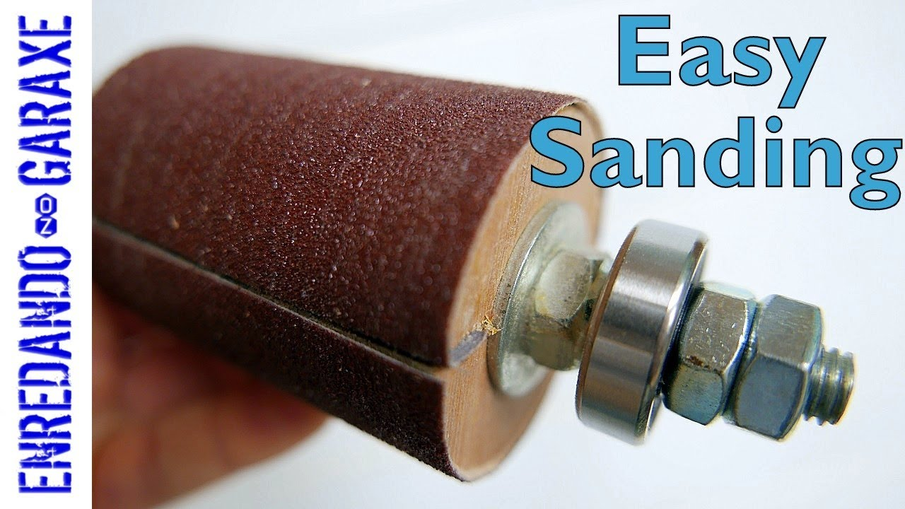 spinning drum sander for drill press