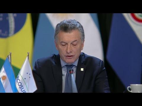 Sesión Plenaria de los Presidentes de los Estados parte del Mercosur