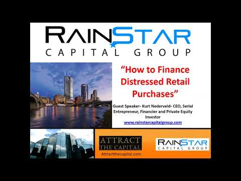 How to Finance Distressed Retail Purchases