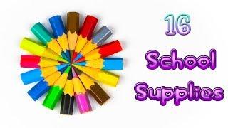 16 Amazing DIY School Supplies! Back To School Hacks