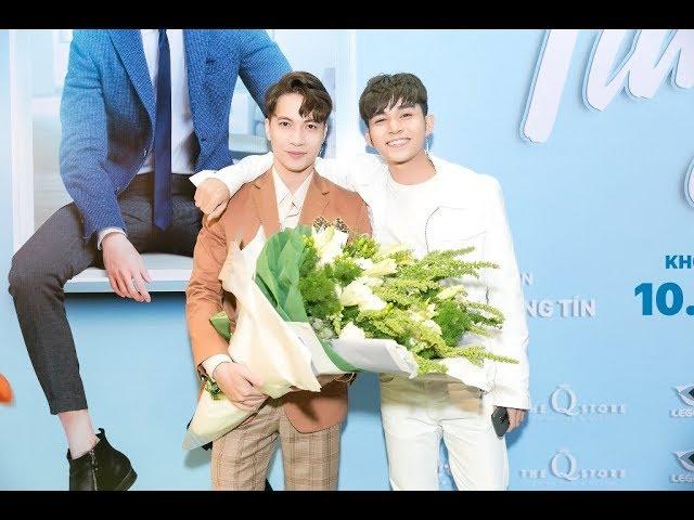 Jun Phạm, B Trần cực điển trai đến chúc mừng S.T ra mắt phim