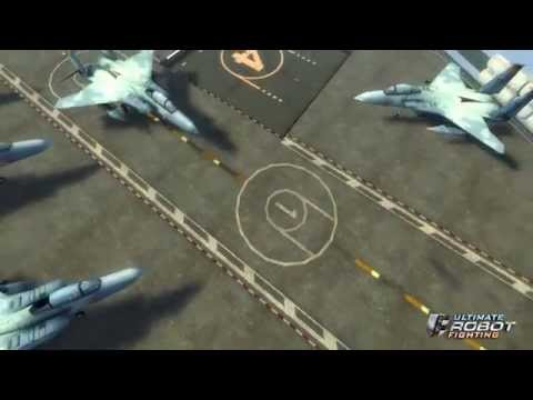 ULTIMATE ROBOT FIGHTING - AIRCRAFT CARRIER ARENA PREVIEW