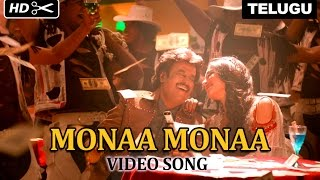 Download Hindi Video Songs - Monaa Monaa | Video Song | Lingaa (Telugu)