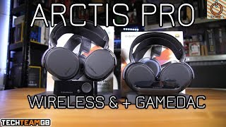 Steelseries Arctis Pro Wireless +GAMEDAC Review